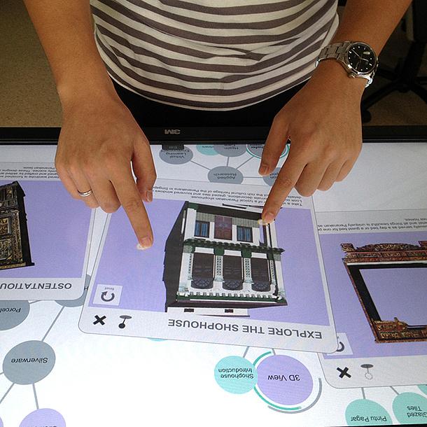 Mehrere Bilder eines Shoppinghauses. Bildquelle: Junming Peng, Fraunhofer IDM@NTU