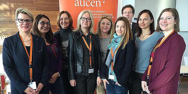 Der scheidende und der zukünftige AUCEN Vorstand, Bildquelle: AUCEN