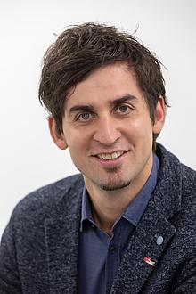 Portrait TU Graz researcher Christian Ellersdorfer