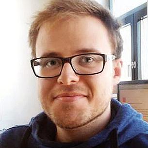 """Martin Landfahrer, Studierender des Masterstudiums """"Verfahrenstechnik"""", TU Graz. Bildquelle: Kappacher"""