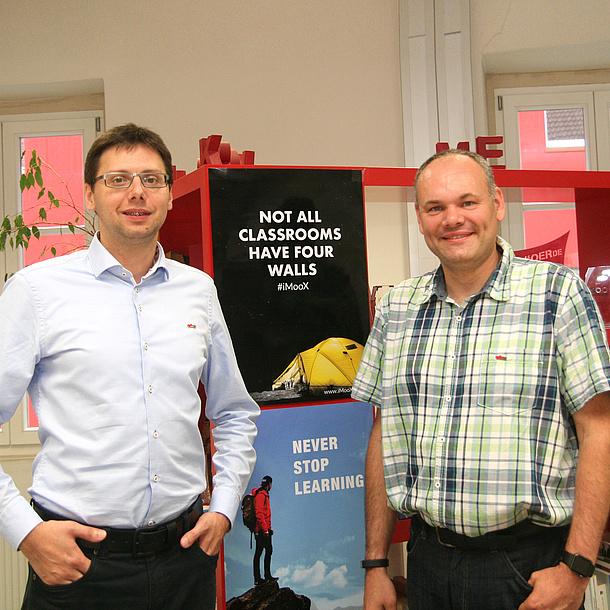 Markus Ebner (links) und Martin Ebner (rechts), Bildquelle: TU Graz