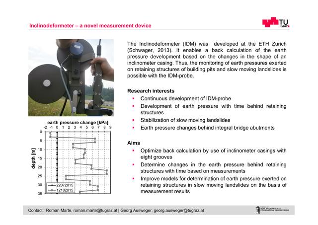 Inclinodeformeter - a novel measurement device