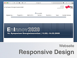 Screenshot der EnInnov-Homepage