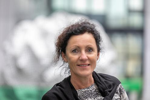 Portrait einer Foscherin der Med Uni Graz
