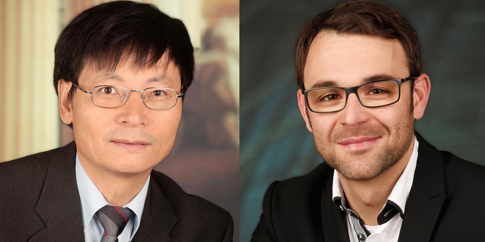 Nguyen Viet Tue und Dirk Schlicke
