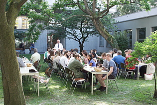 At this year's institute barbecue we could again welcome many former colleagues and friends of the institute