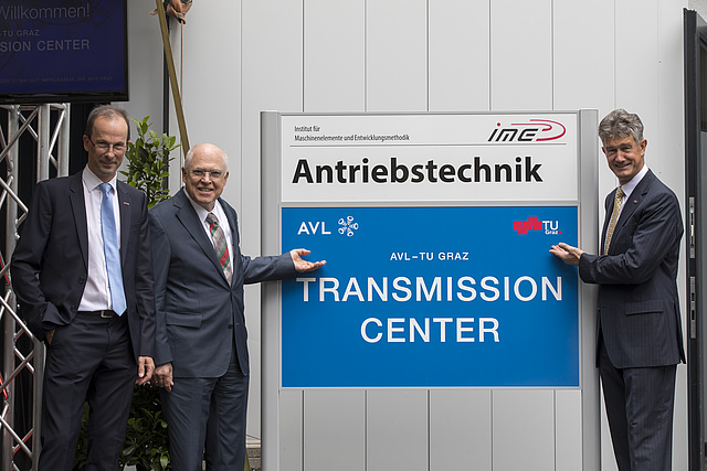Sign of the new Transmission Center