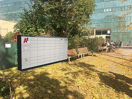 Paketbox im Freien