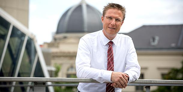Vice rector Detlef Heck, Bildquelle: Lunghammer – TU Graz