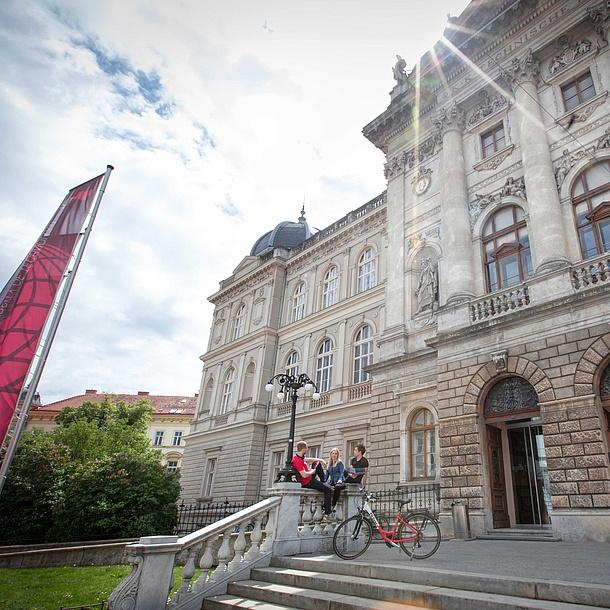 Building of TU Graz