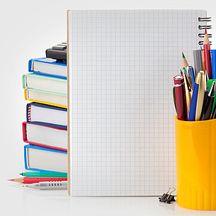 "The service department of ""Purchasing Service"" supplies every single department of TU Graz with office material, workwear, promotion material of TU Graz, business cards and many more. Photo source: Sergii Moscaliuk - fotolia.com"