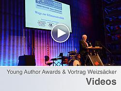 Ernst Ulrich von Weizsäcker bei seinem Vortrag im Rahmen der 2. Abendveranstaltung.