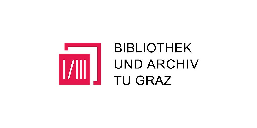 rotes Icon der Servieeinrichtung Bibliothk und Archiv, Bildquelle: TU Graz