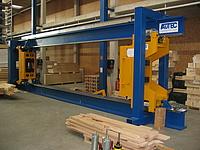 Ansicht der Zug- und Druckprüfmaschine lignum_dz_1000