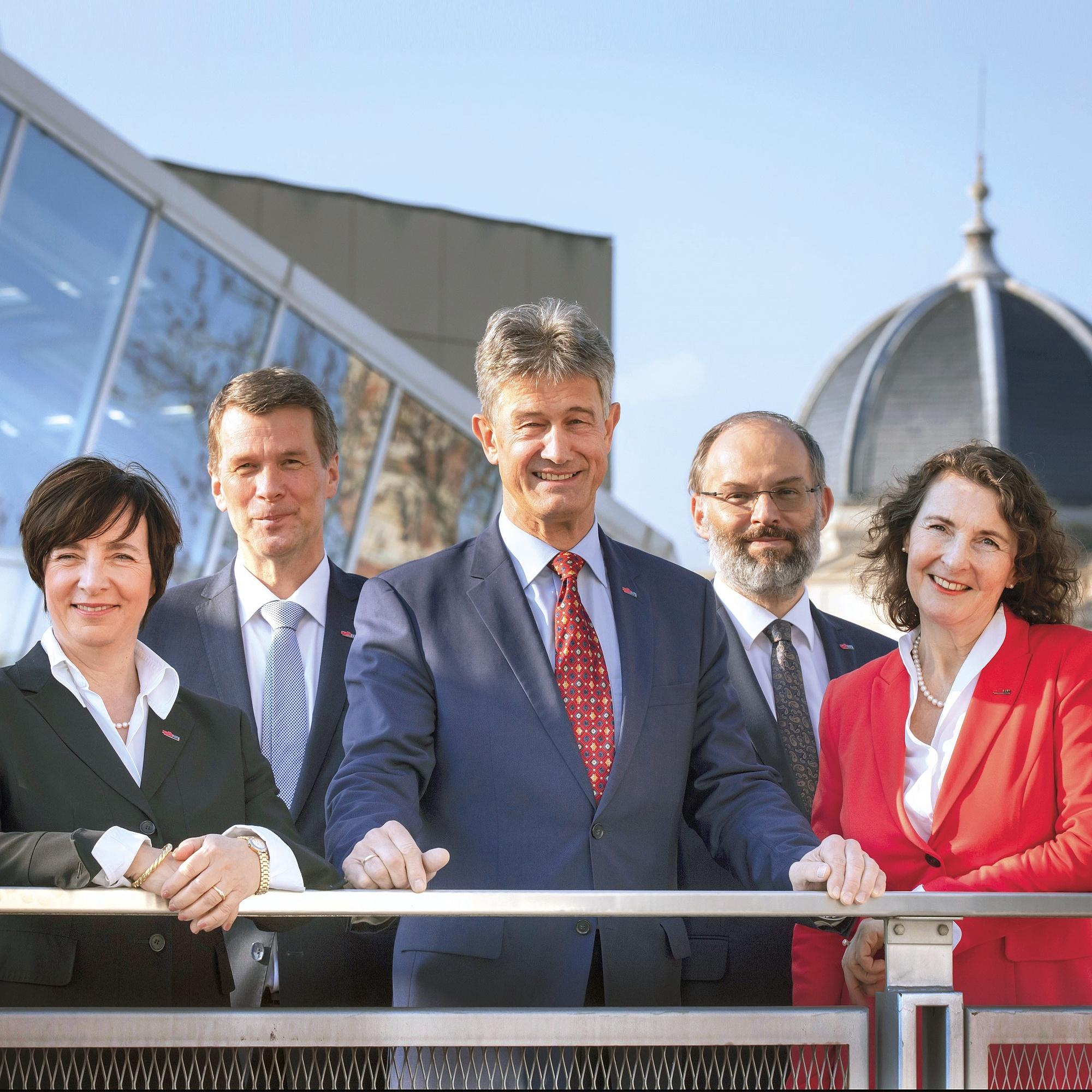 Das neue Rektorat der TU Graz