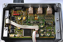 Insight of an automotive control unit.