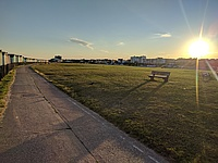 Picture of Lancing (UK), the town next to the location of Ricardo UK.