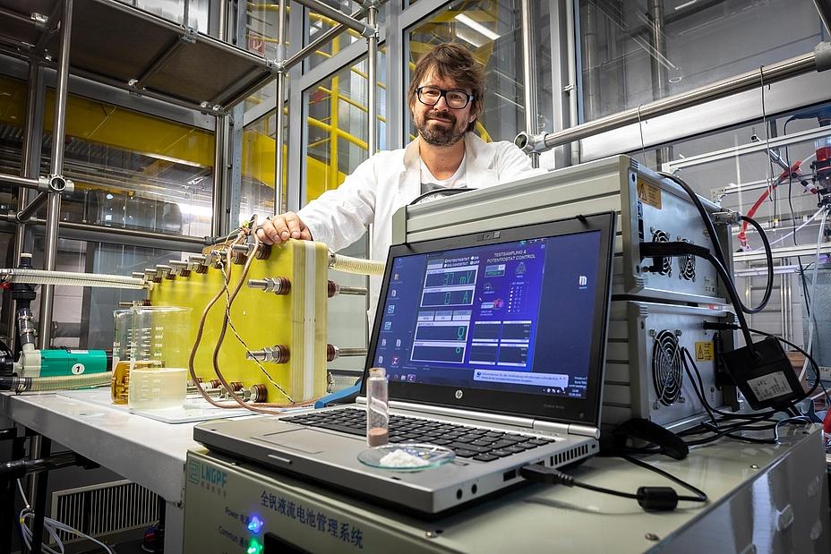 Forscher in Laborumgebung