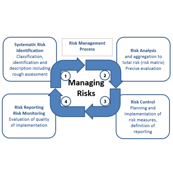 Risk Management Process, Source: TU Graz