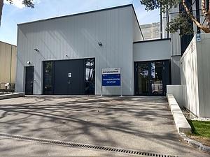 Außenansicht AVL - TU Graz Transmissioncenter