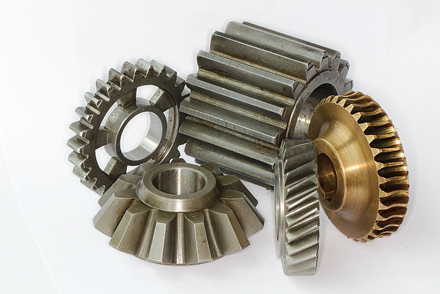 Collection of different gears