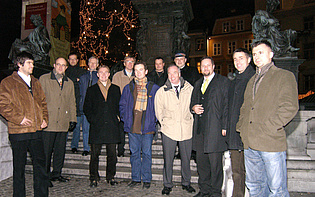 Informal meeting of the European project VITAL with staff members of DLR, MTU and EADS in Graz, 06