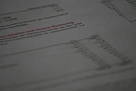 Bilanzseite