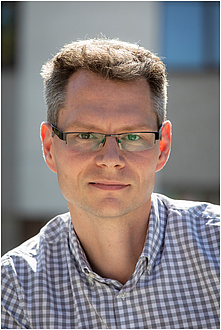Portrait of experimental physicist Markus Koch