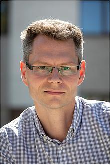 Portrait of experimental physicist Markus Koch
