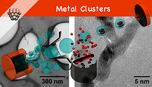 [-] Optical and Catalytic Properties of Metal Clusters