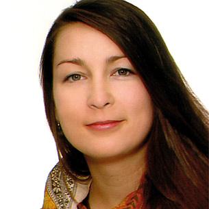 """Justyna Niestrawska, Studierende der Doctoral School """"Biomedical Engineering"""", TU Graz. Bildquelle: Niestrawska"""