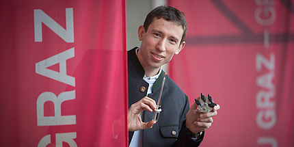 Portrait von Stefan Freunberger