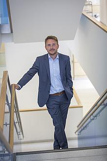 Martin Wilkening, Leiter des Instituts für Chemische Technologie von Materialien sowie des CD-Labors für Lithium-Batterien der TU Graz
