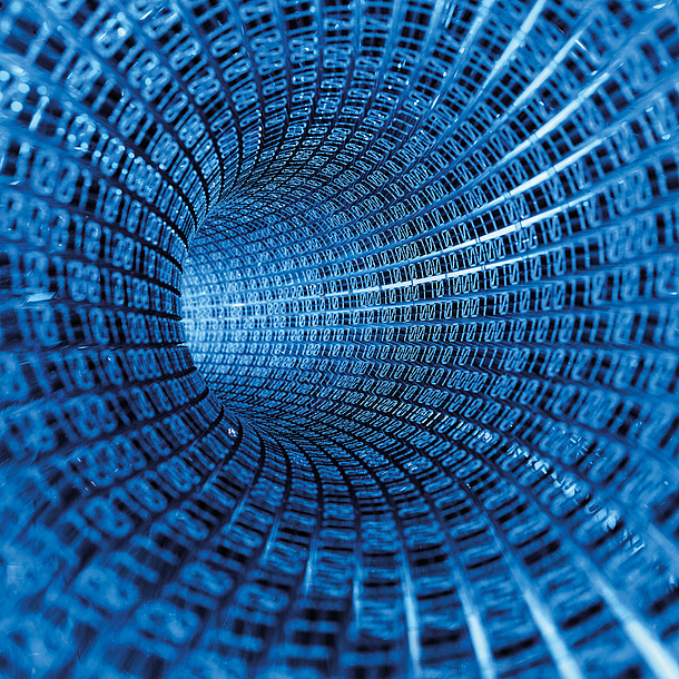 Data tunnel, Information Communication and Computing, Photo source: Istockphoto.com