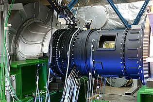 Instrumentation of the VITAL testrig as can be seen in the Flugrevue of August 2008.