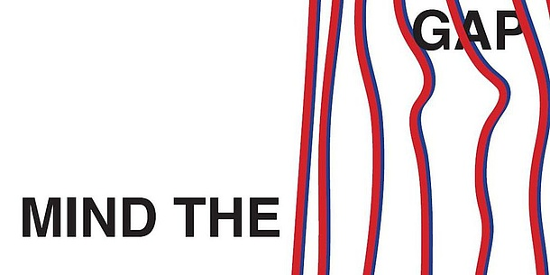 """Mind the Gap""-Logo"