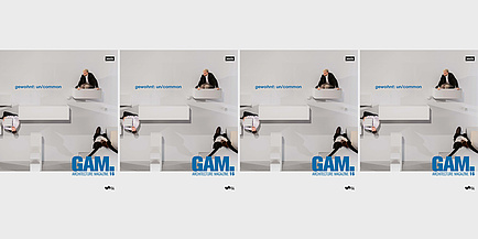 Cover Graz Architektur Magazin 16 with the inscription gewohnt: un/common