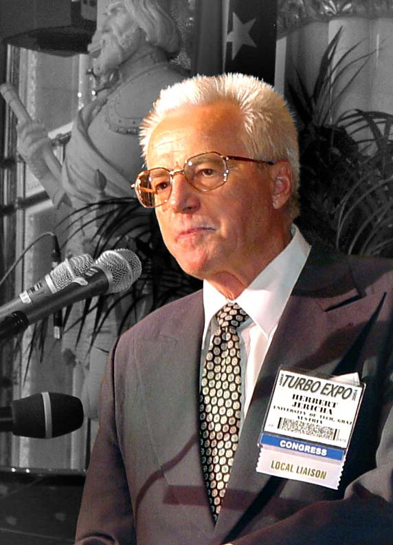 Herbert Jericha at the ASME Turbo Expo 2004 in Vienna