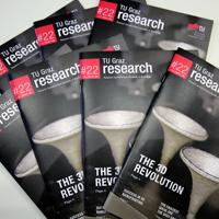 Das Titelbild von TU Graz research #22.