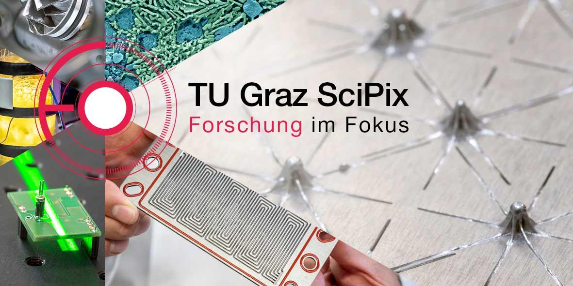 Das Logo von TU Graz SciPix