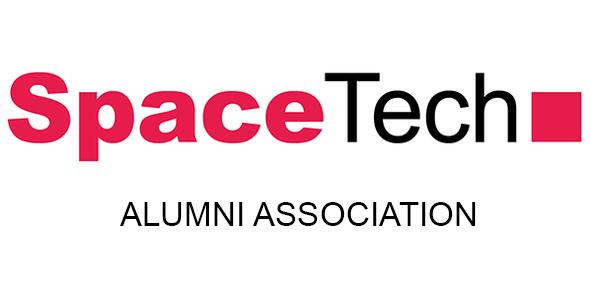 Text: SpaceTech Alumni Association