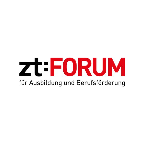 Text: zt:FORUM. Ausbildung und Berufsförderung