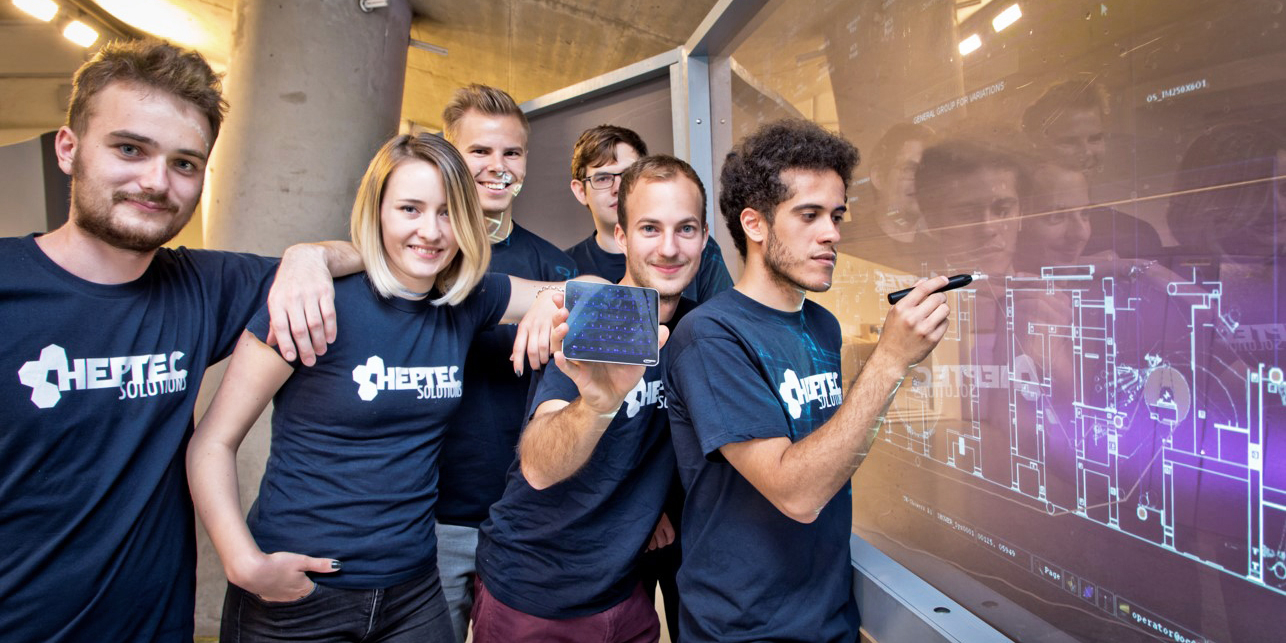 Students of the project Product Innovation