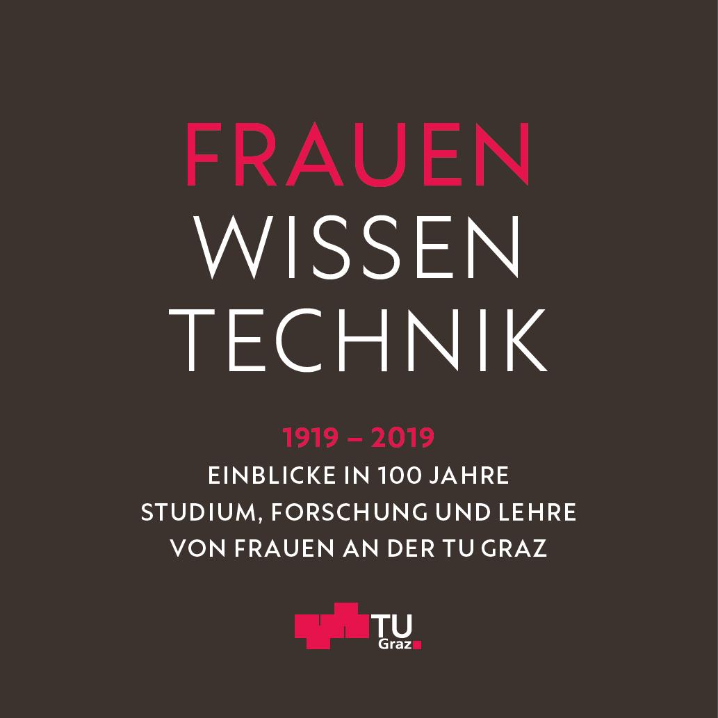 Text im Bild: Frauen Wissen Technik