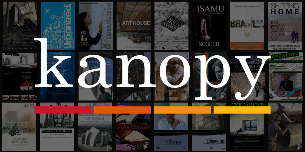Logo des Streaming-Dienstes Kanopy
