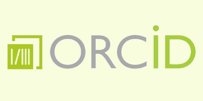 Bibliothekslogo mit ORCID-Schriftzug