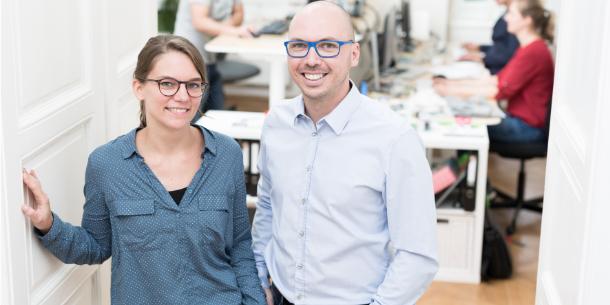 Karin Pichler und Christian Haintz
