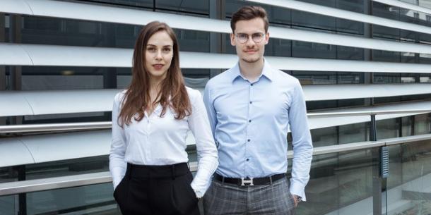 Ines Wöckl und Alexander Rech
