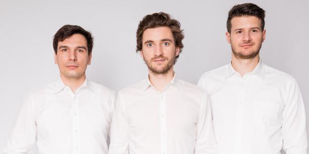 Stephan Weinberger, Christoph Grimmer und Florian Gebetsroither
