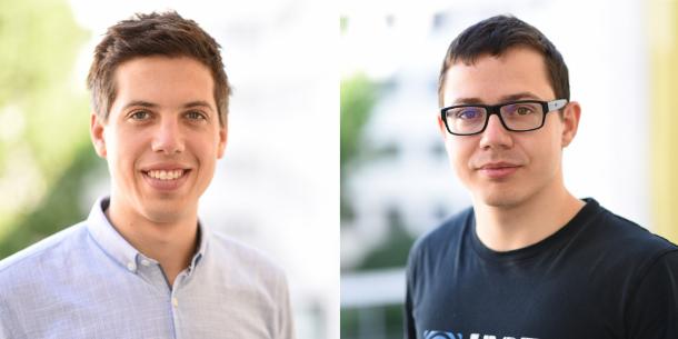 Dominik Wieser und Philipp Reitter
